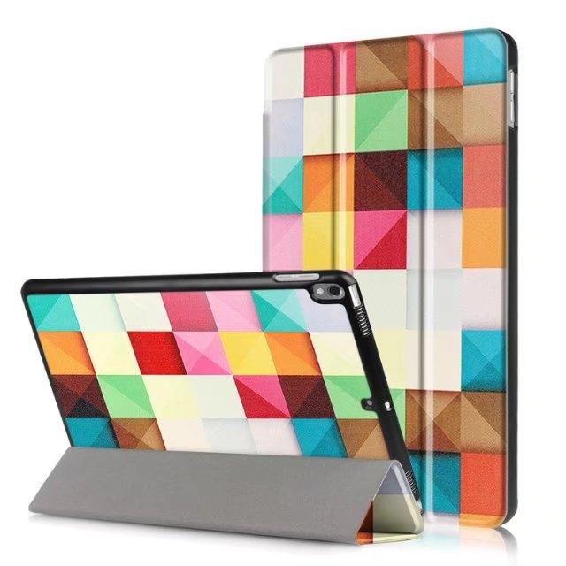 蘋果 New iPad pro 10.5 平板皮套 保護套 彩繪三折 平板套 10.5吋 保護殼 外殼 平包殼