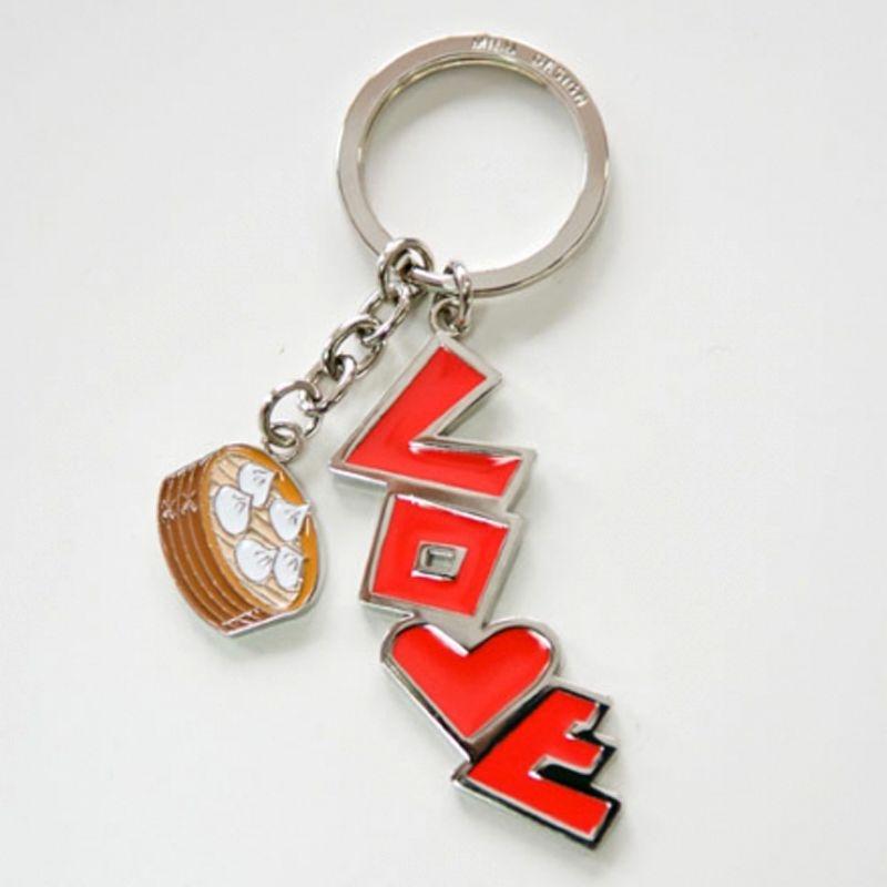 LOVE台北鑰匙圈-小籠包