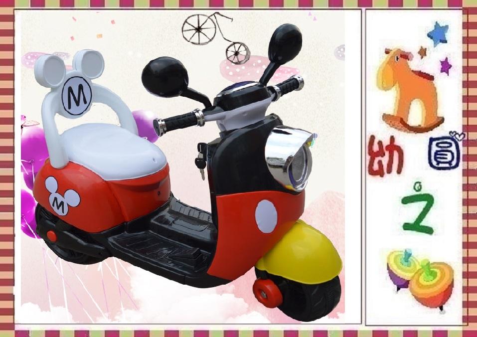 幼之圓*米奇米妮電動車~第三代有椅背靠背款~生日禮物週歲禮物兒童騎乘