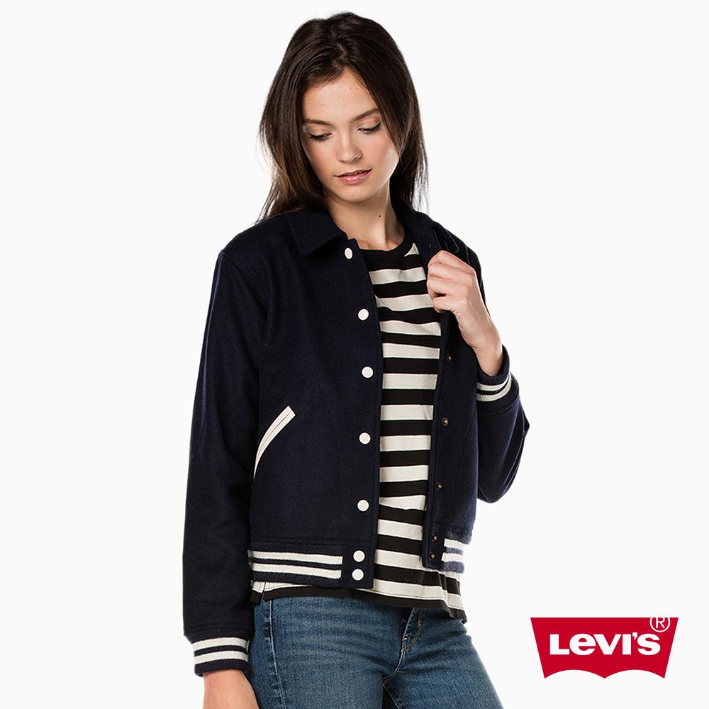 夾克外套電繡羊毛Levis