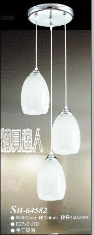 玻璃餐桌燈64582家庭/咖啡廳/居家裝飾/浪漫氣氛/藝術/餐桌/燈具達人