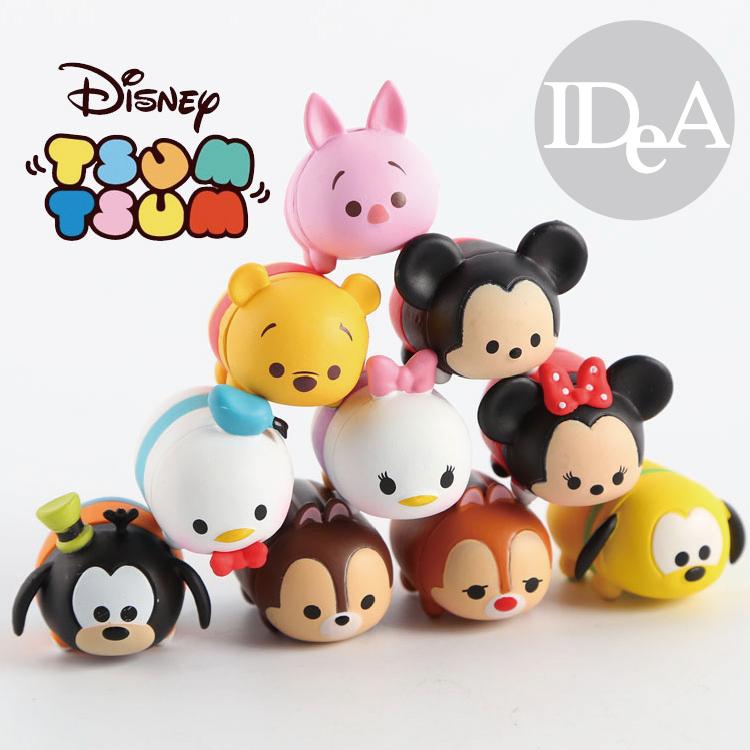 迪士尼TSUM TSUM疊疊樂層層疊堆疊玩偶創意玩具公仔全家集點Disney米奇米妮奇奇蒂蒂唐老鴨