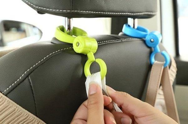 生活家精品L114 S型車載座椅掛勾2入多用途汽車座椅掛勾椅背置物架