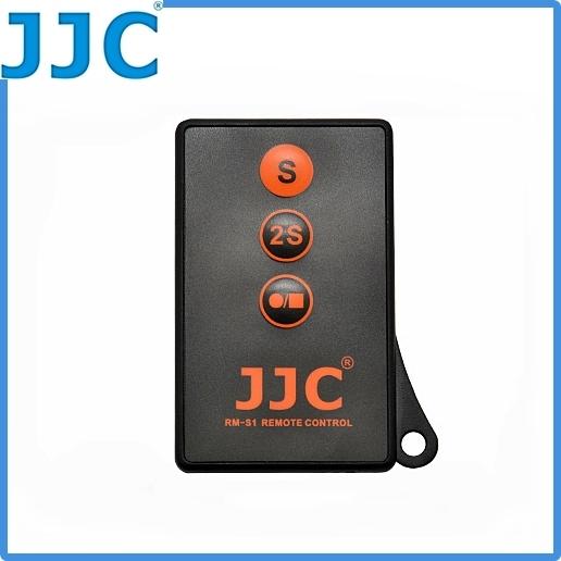 我愛買JJC可錄影紅外光遙控器RM-S1相容Sony原廠RM-DSLR2紅外線遙控器適NEX-5 NEX-6 NEX7 NEX-5N NEX-5R NEX-5T