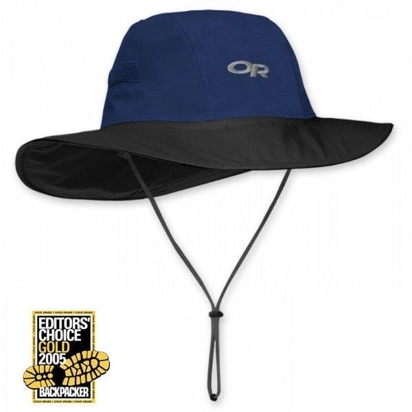 山水網路商城美國OR經典款GTX防水透氣大盤帽OR82130防水透氣吸濕排汗深藍色