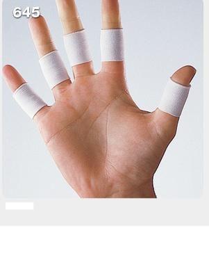 宏海護具專家護具護指LP 645指關節護套護指套白色10個1組單一尺寸運動防護運動護具