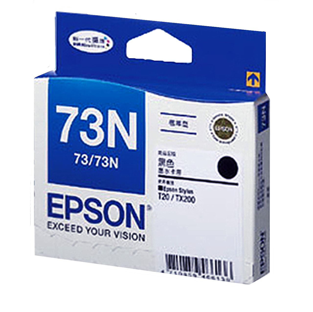 T105150 EPSON 原廠 黑色墨水匣-新一代魔珠墨水 C79/C90/C110/CX3900/CX4900/CX5500/CX5505/CX5900/CX6900F/CX7300/T20