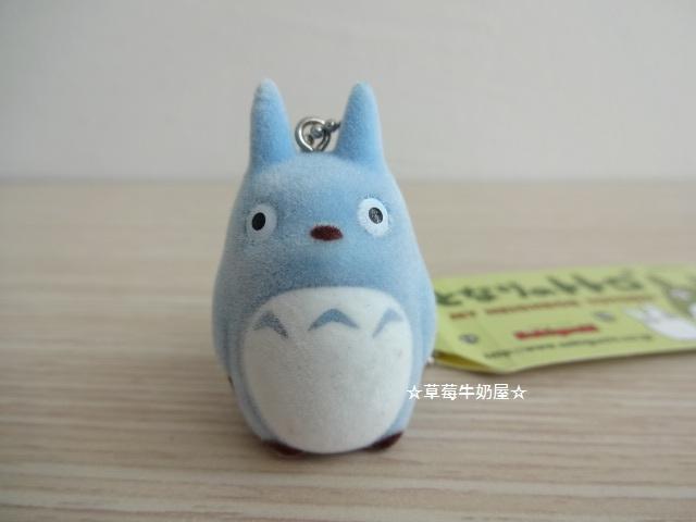 草莓牛奶屋日本進口宮崎駿TOTORO龍貓珠鍊吊飾藍龍貓