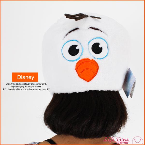 最後2個迪士尼雪寶正版保暖毛帽兒童帽角色扮演造型帽帽子B22611