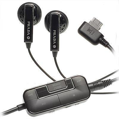 PRADA LG KG800原廠耳機音源線KC910 KU800 KU990 KE970 KF350夾式線控調音量選曲黑色采昇通訊