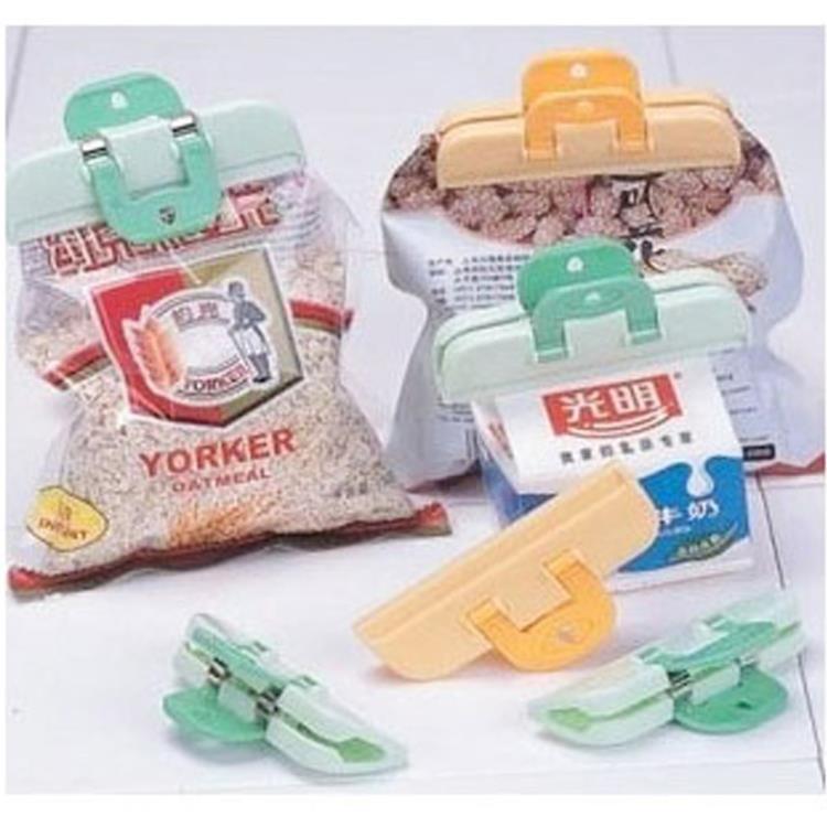 [超豐國際]食品封口夾塑料袋夾子 食品袋出料嘴密封夾奶粉零食保鮮