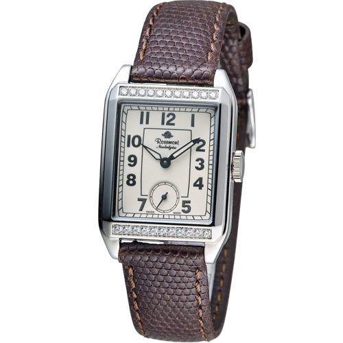 Rosemont戀舊系列時尚腕錶TN002J-SW-BR