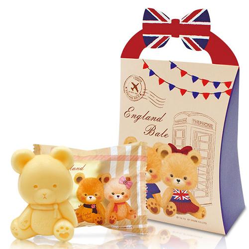 幸福婚禮小物英倫風小熊抗菌香皂喝茶禮探房禮送客禮活動禮物手工香皂