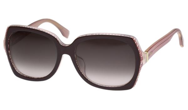 Fendi-時尚太陽眼鏡粉紅色