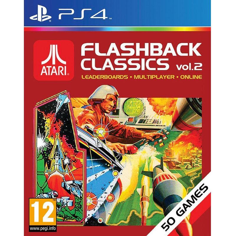 PS4 ATARI懷舊重溫經典合輯2 50款遊戲-英文版-Flashback Classics Vol.2雅達利