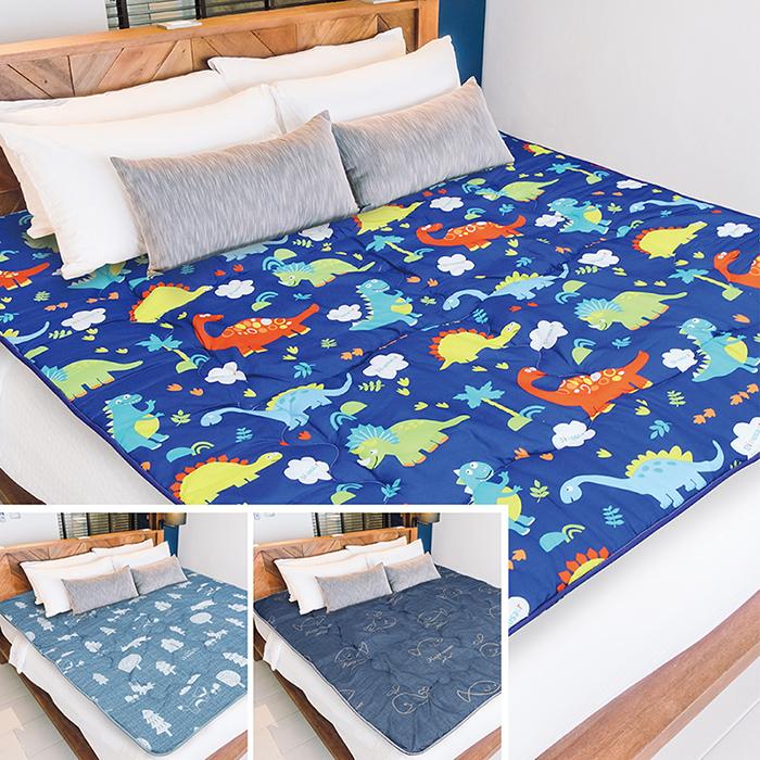 【Victoria】鋪棉透氣日式折疊床墊-雙人