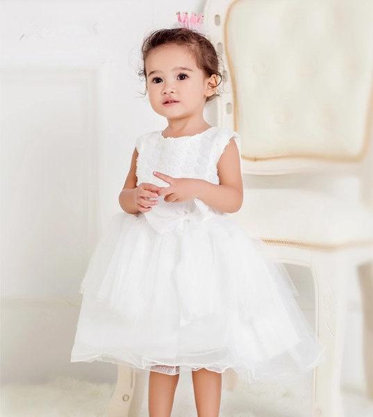 俏魔女美人館出租禮服新款兒童公主裙花童禮服女童禮服裙女童生日禮物公主婚紗裙