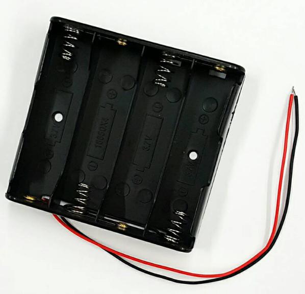 [ 中將3C ]   18650  電池盒 4節 (串聯)   BOX-4B