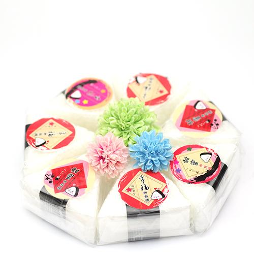 幸福婚禮小物甜蜜御飯糰手工香皂-一組10入二次進場探房禮伴娘禮伴郎禮