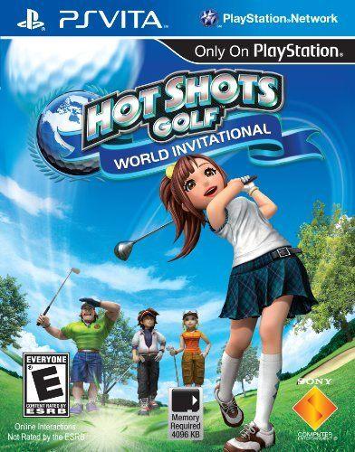 PSV Hot Shots Golf:World Invitational全民高爾夫6美版代購
