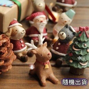 【易奇寶】新年聖誔仰望天空擺飾工藝品