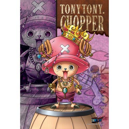 拼圖總動員PUZZLE STORY草帽海賊團-多尼多尼喬巴日系Ensky海賊王One Piece 300P