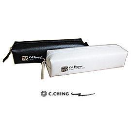青青文具CPC-62貓行李系列經典徽章皮製筆袋