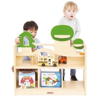 挪葳森林-積木情境操作櫃預購45天兒童床兒童家具兒童桌學生椅