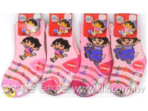 DORA 厚棉童襪 短襪 襪子 (2雙)  ~DK襪子毛巾大王