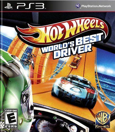PS3 Hot Wheels World s Best Driver 風火輪賽車 世界最強車手(美版代購)