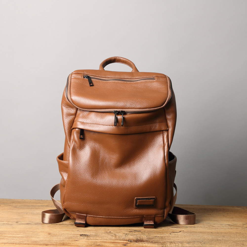 【Solomon原創設計皮件】路透 包覆性後背包