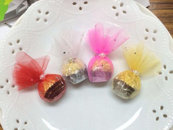 娃娃屋樂園~金莎巧克力喜糖兩種包裝可選10個180元婚禮小物送客會場佈置求婚花束