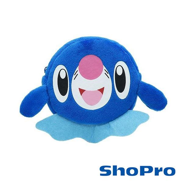 日本進口神奇寶貝球球海獅Popplio零錢包收納包口袋怪獸精靈寶可夢150847