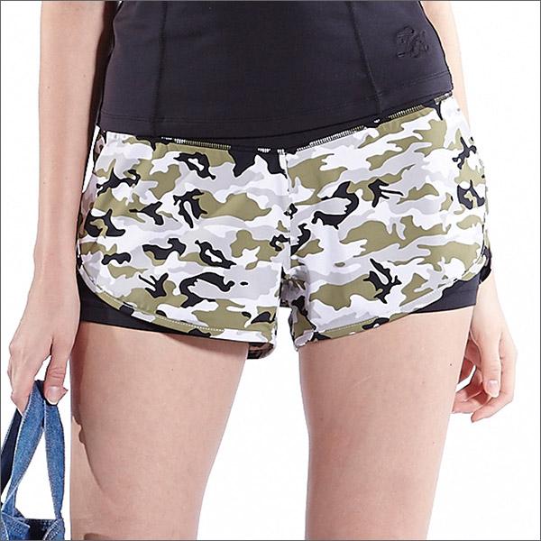 俏皮印花短褲TAQ10608-百貨專櫃品牌TOUCH AERO瑜珈服有氧服韻律服