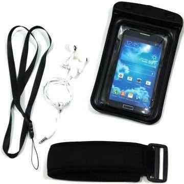 Samsung Galaxy S4 i9500 S3 i9300漂浮防水袋游泳運動防水臂套附送防水耳機內建3.5mm耳機孔防水套
