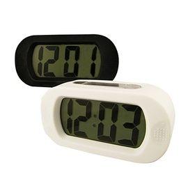 AWANA長方形簡約LCD電子時鐘