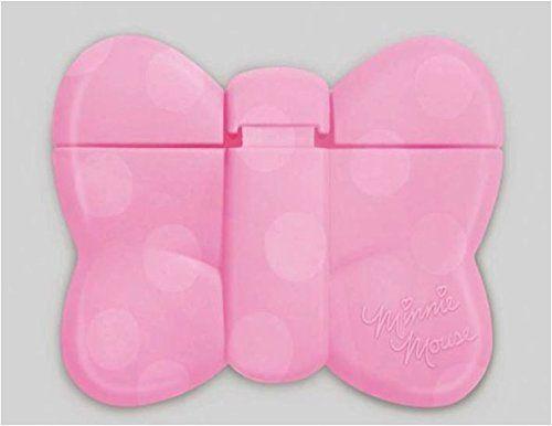 日本迪士尼Disney米妮蝴蝶結造型重覆黏貼濕紙巾專用盒蓋濕巾蓋-粉攜帶包專用
