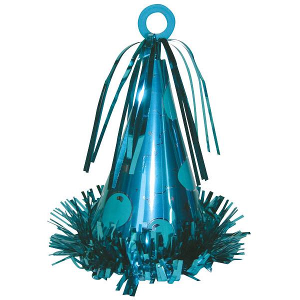 派對帽氣球座-藍