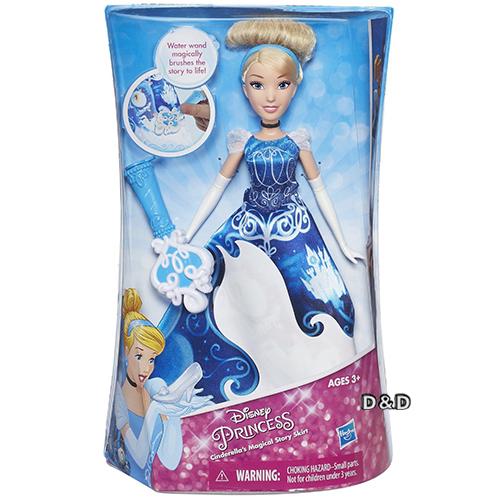 Disney迪士尼公主故事裙裝遊戲組灰姑娘仙杜瑞拉JOYBUS玩具百貨