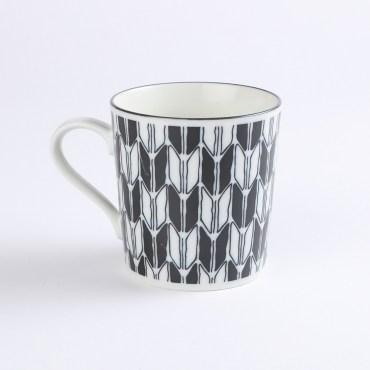 日本KOMON馬克杯350ml箭紋