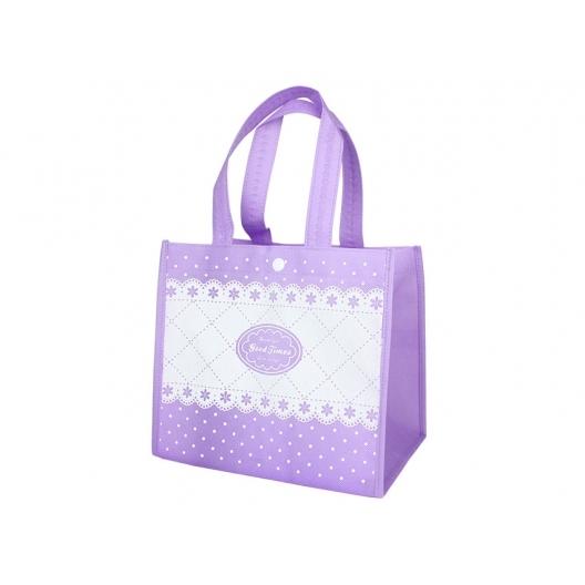 紫色手提袋包裝袋環保袋不織布袋購物袋