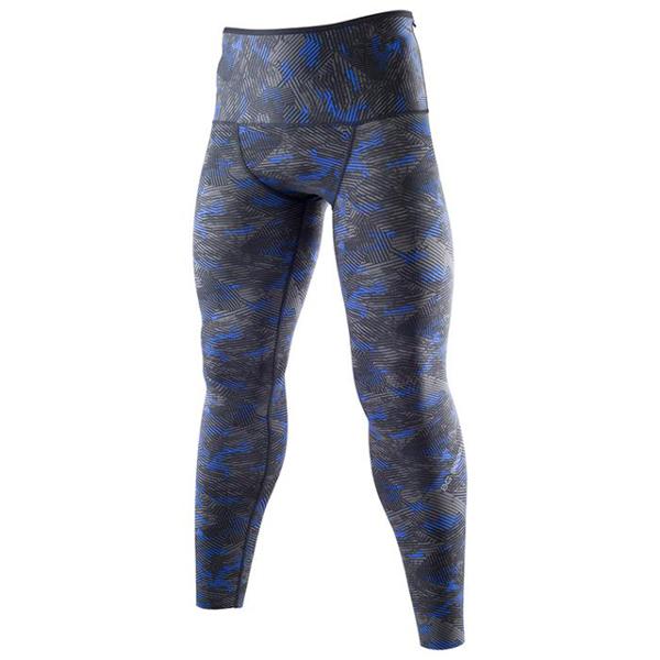 Mizuno BG 9000美津濃黑藍男款壓縮褲壓力褲緊身褲慢跑路跑運動緊身長褲K2MJ5B0293