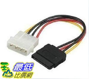 106玉山最低比價網桌上型電腦桌上型電腦4-S D型轉SATA串口電源轉接線4PIN轉串口電源線G391