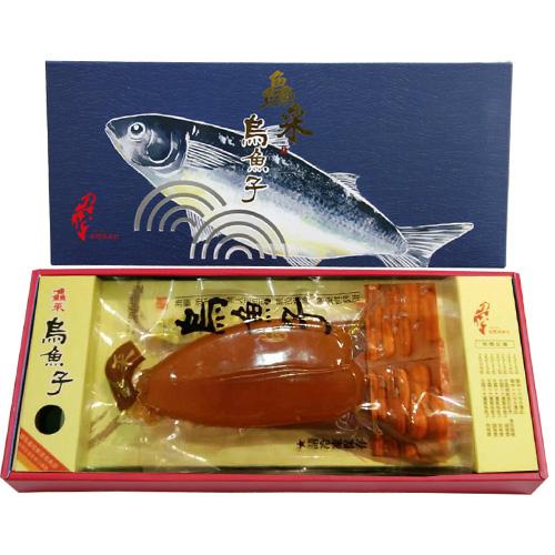 有溫度的烏魚子-莊國顯X鱻采頂級烏魚子三兩2片一盒組