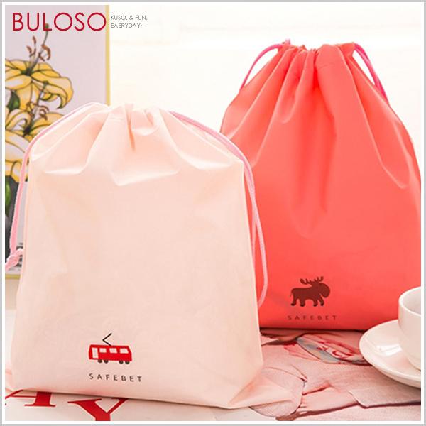 《不囉唆》旅行收納防水束口袋 (M號) 衣物收納袋 (可挑款/色)【A412555】