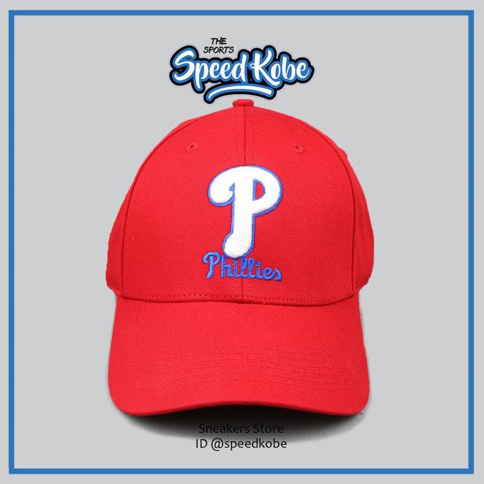 MLB美國職棒大聯盟費城人隊紅色可調式球迷帽特價390元5032068-150 speedkobe