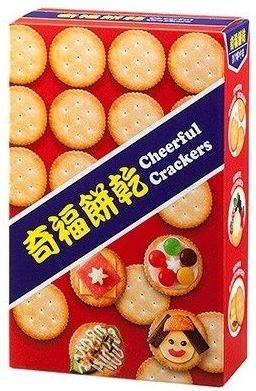 奇福餅乾140g/4盒【合迷雅好物超級商城】