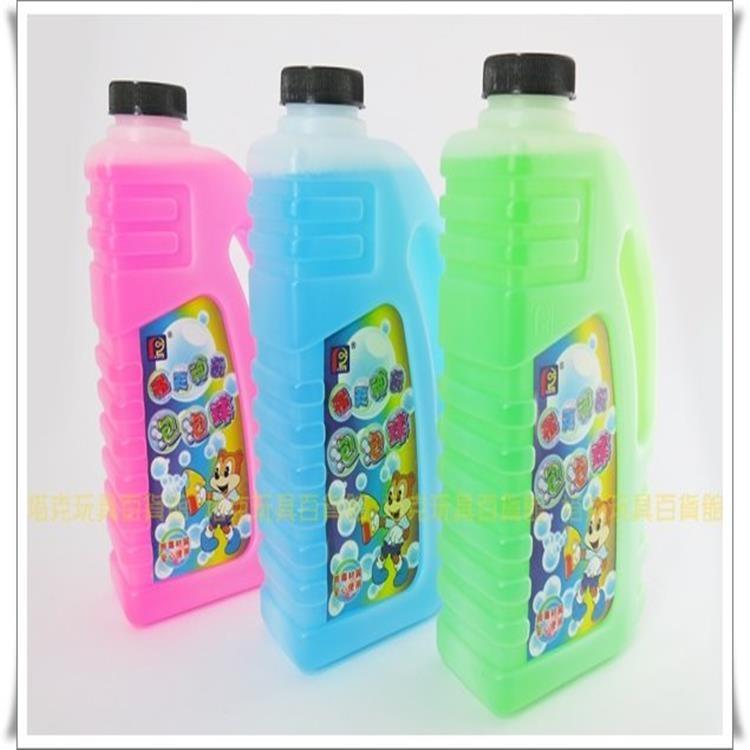 塔克彩虹泡泡水泡泡液補充瓶750ML安全無毒音樂連續電動泡泡槍玩具泡泡機