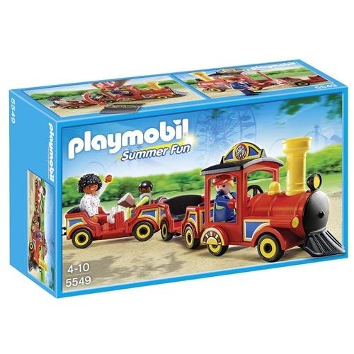 playmobil歡樂遊樂園系列園遊火車PM05549
