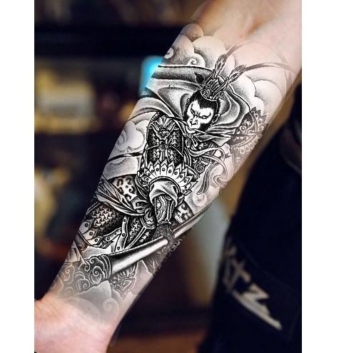 薇嘉雅 齊天大聖   環臂圖案紋身貼紙 AX178